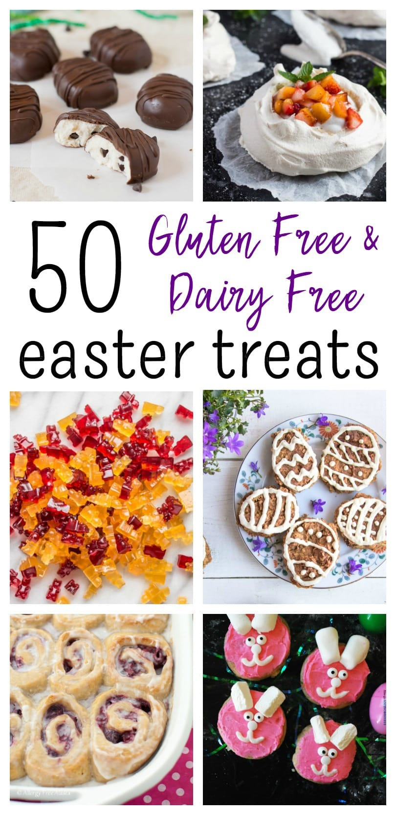If you're looking for some last-minute Easter treats that are allergy-friendly, look no further: I've gathered together 50 gluten free and dairy free Easter treats to celebrate spring! @TheFitCookie