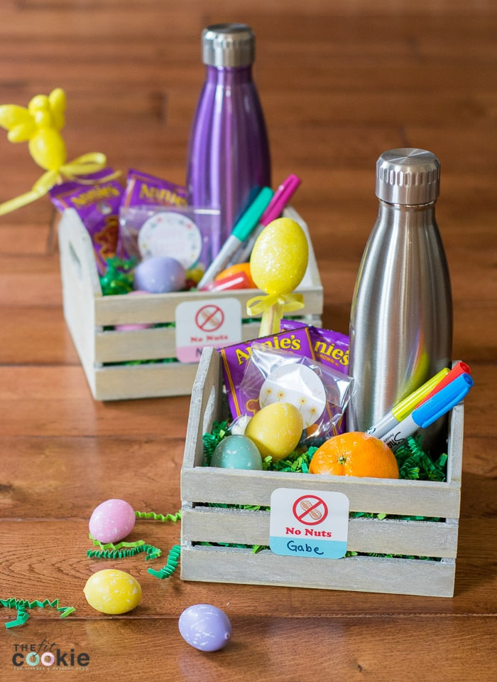 35 allergy friendly easter basket ideas the fit cookie looking for some creative easter basket ideas for kids with food allergies here are 35 negle Images