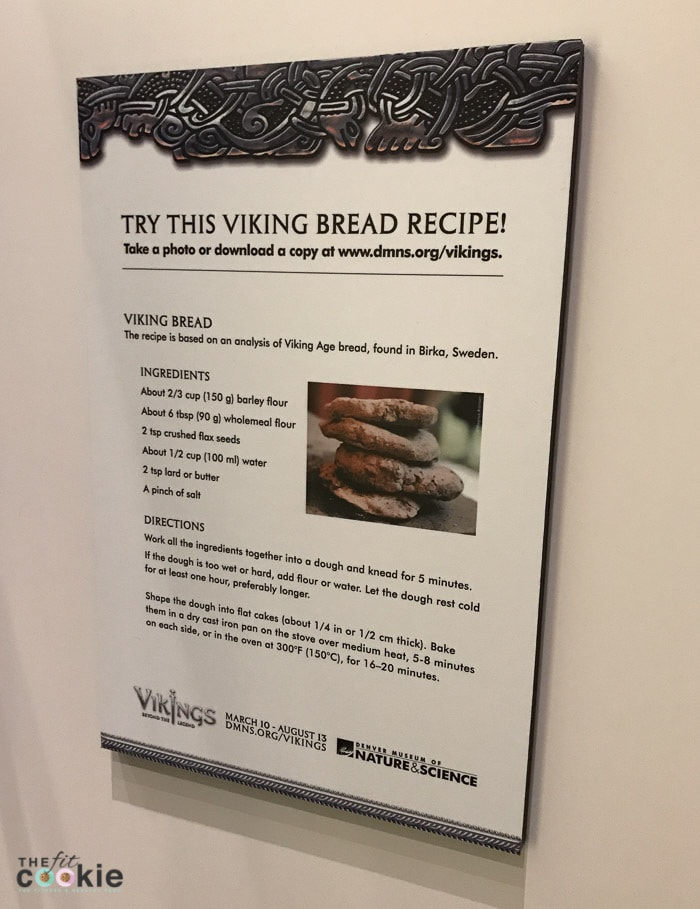 Viking bread recipe from the Denver Museum of Nature and Science - @TheFitCookie