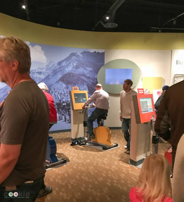 Expedition Health exhibit at the Denver Museum of Nature and Science - @TheFitCookie