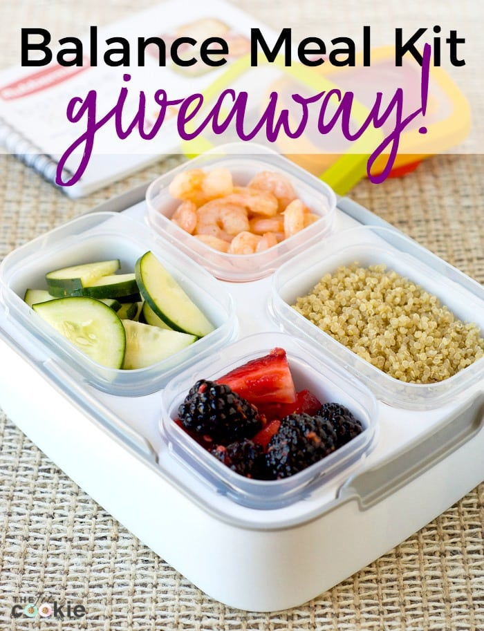 Make meal planning and meal prep easier: Enter to win a Rubbermaid® Balance Meal Kit from @TheFitCookie! - Sponsored by Rubbermaid® #BalancedBites