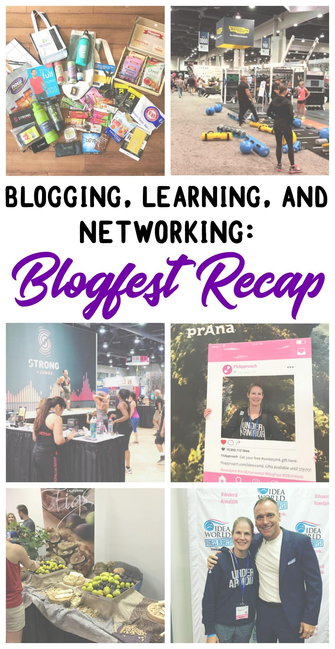 Want to know what it's like to go to Blogfest? Here's my recap of this year's Blogfest in Las Vegas!Lots of blogging, learning, and networking with great brands and blogging friends - @TheFitCookie