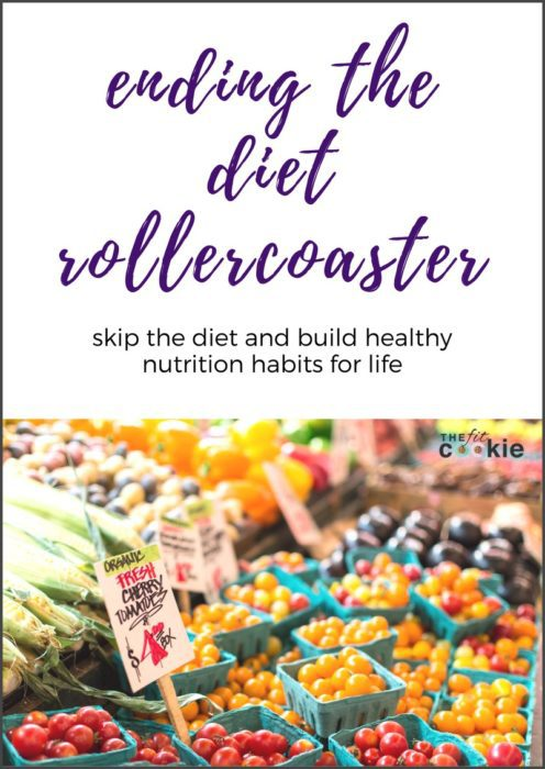 ending the diet rollercoaster ebook - shop the fit cookie