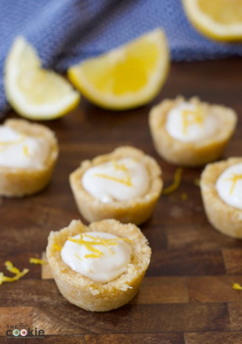 If you're craving something sweet but healthy and easy to make, you've come to the right place. These Mini No-Bake Lemon Tarts are gluten free, vegan, super easy to make (takes less than 10 minutes!), plus they are healthy enough to have one or two at breakfast! - #AD @TheFitCookie #CocoRoonsAtWalmart #Pmedia
