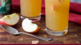 Ginger Apple Sparkling Cider (Lower Sugar)
