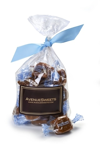 Avenue Sweets dairy free caramels | If you or your loved ones have food allergies, finding sweet treats for the holidays can be challenging. But don't worry, there are plenty of great companies that make treats for you. Here are 10 amazing allergy friendly sweet gifts you can safely give this season! - @TheFitCookie #allergyfriendly #glutenfree