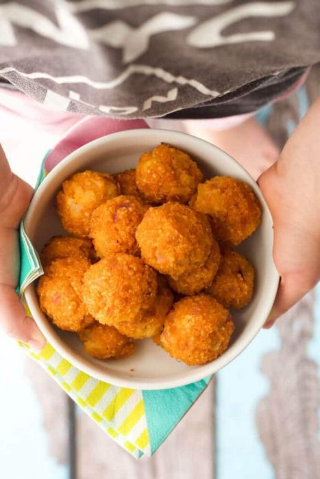 Sweet and Sour Quinoa Balls by Healthy Little Foodies
