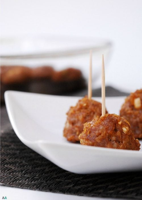 Asian Quinoa Meatballs by Allergy Awesomeness