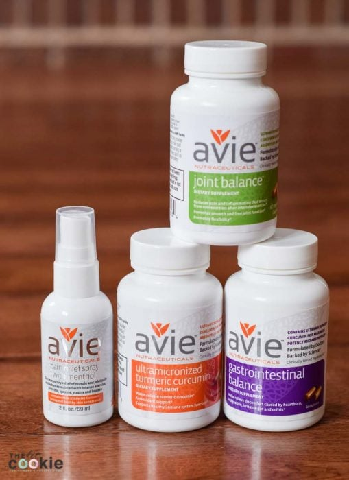 Avie Nutraceuticals Ultramicronized turmeric curcumin products - Have trouble doing squats, or need to avoid them due to knee trouble or injuries? This No Squat Leg Workout is knee-friendly and great for strengthening your hips and glutes without stressing your knees - @TheFitCookie #workout #fitness #AD @AvieNaturals
