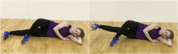 Inner thigh leg lift exercise