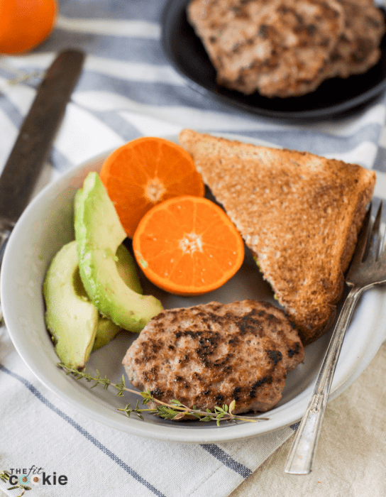If you're looking for a healthy and allergy friendly way to add protein to your breakfast, make some homemade turkey breakfast sausage! This is easy to make, healthy, and is affordable - @TheFitCookie #healthy #recipe #paleo