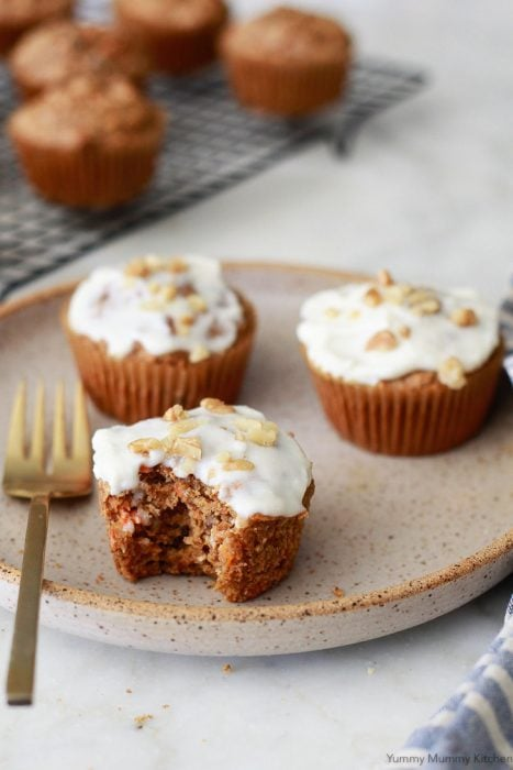 Gluten Free Carrot Muffins by Yummy Mummy Kitchen