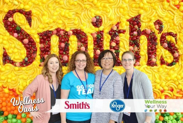 Kroger wellness oasis photo session at Everything Food Conference