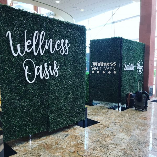 Kroger Wellness Oasis at the Everything Food Conference