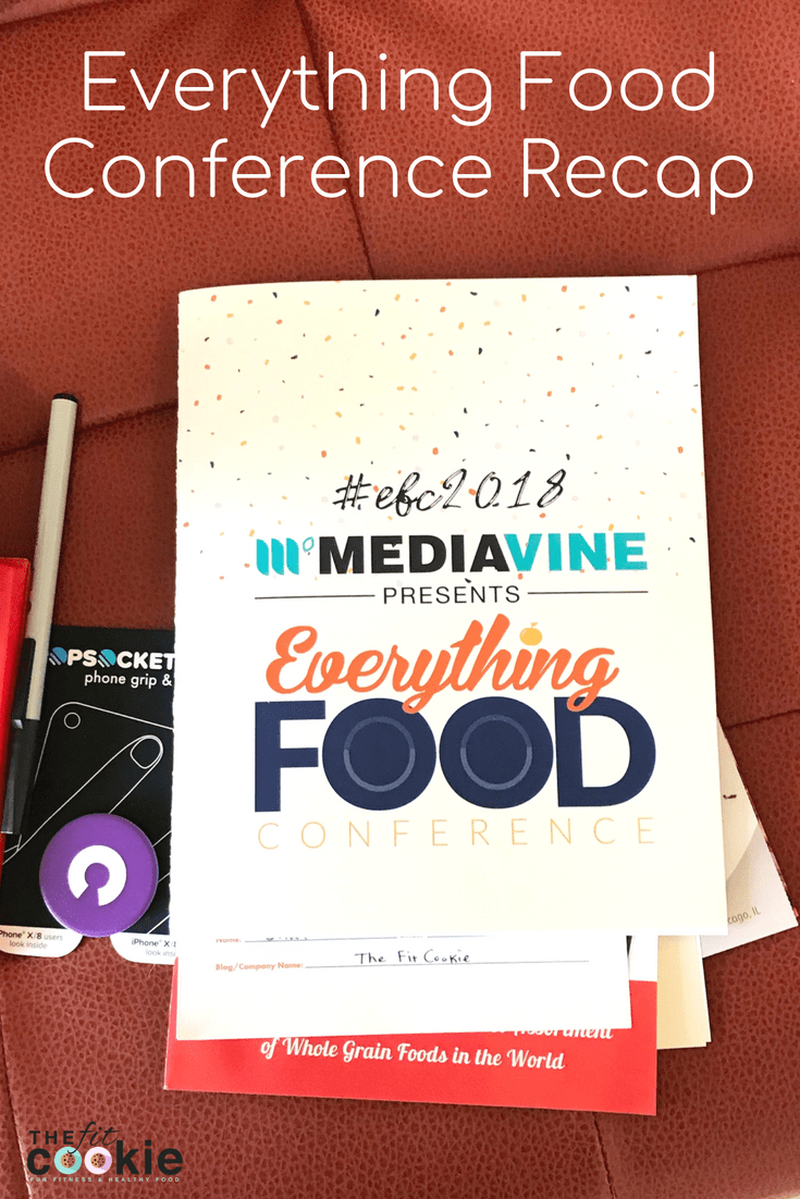 Spend time connecting with bloggers and learning new things at the Everything Food Conference! We spent time in Layton, Utah, a couple weeks ago at the Everything Food Conference learning how to grow our blog, here's a recap of the event - @TheFitCookie #blogging #events #conference