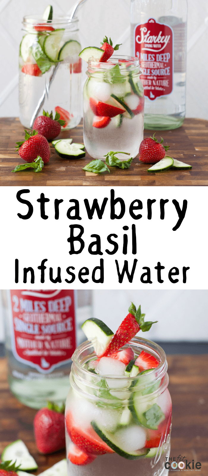 Strawberry-Basil Water picture