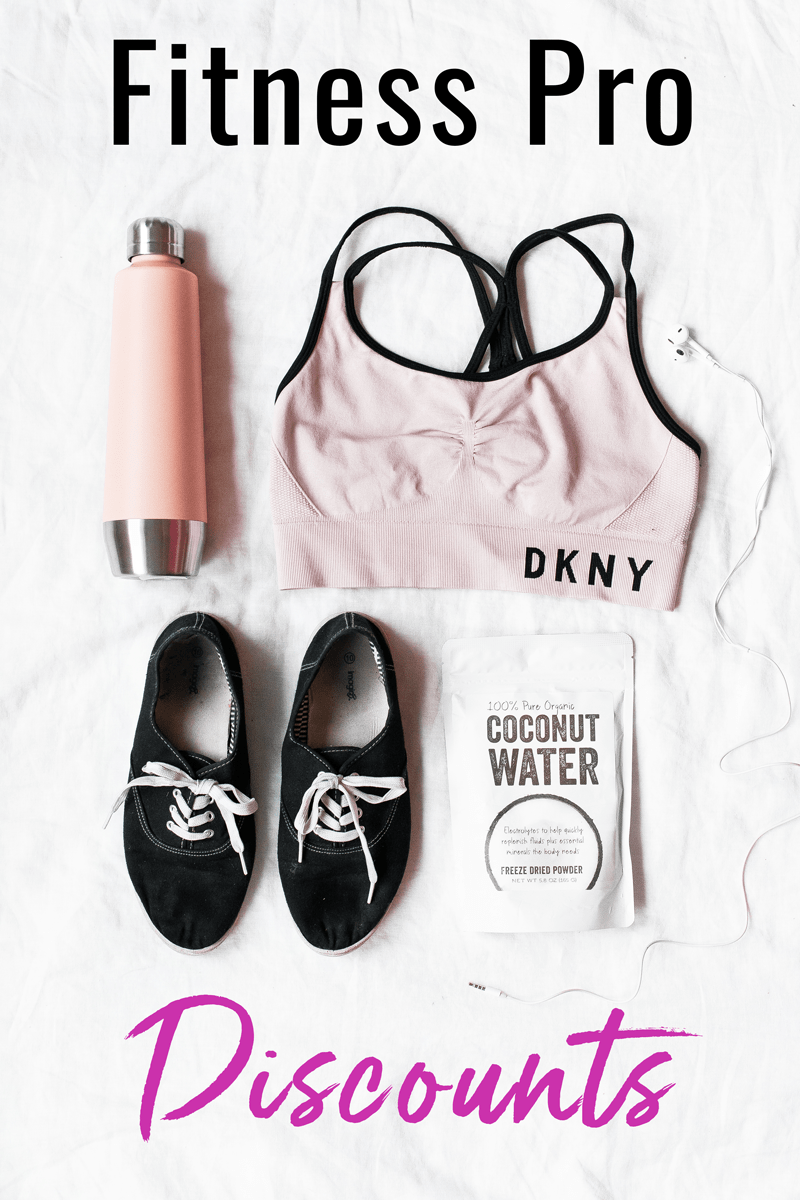 Are you a fitness professional? Check out the companies that have fitness pro discounts! Get discounts on fitness gear and workout clothing for fitness professionals - @TheFitCookie #fitness #discounts