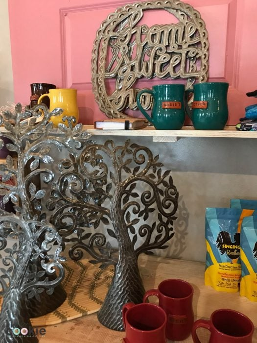 artisan gifts and handcrafted items at Rosie's boutique in Haiti