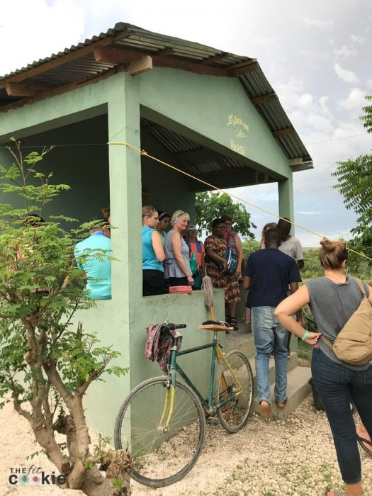 home in Haiti that was built with funds raised by The Mission Haiti