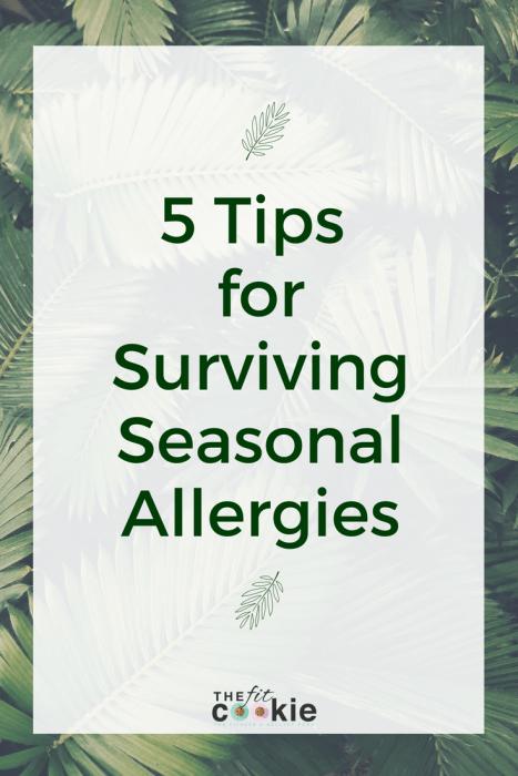 Tips for Surviving Seasonal Allergies