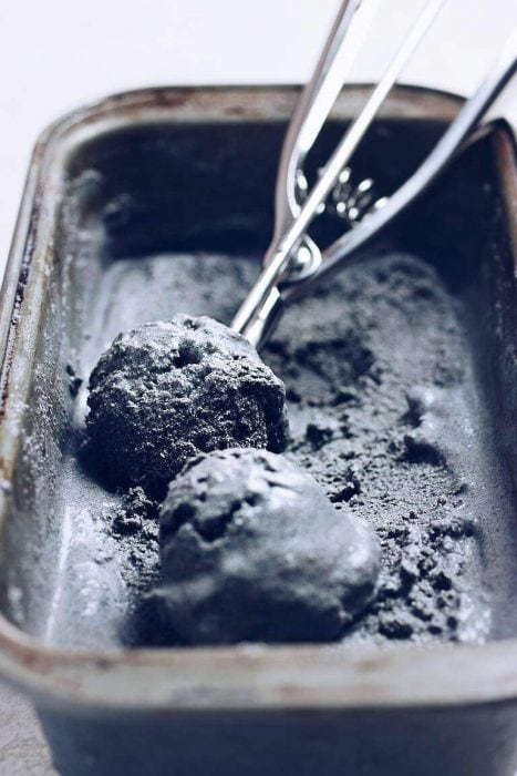 dairy free and gluten free Black Sesame Coconut Milk Ice Cream by I Heart Umami