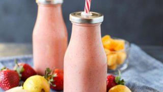 Paleo Strawberry Guava Smoothie (Vegan)