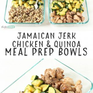 chicken meal prep bowls with quinoa