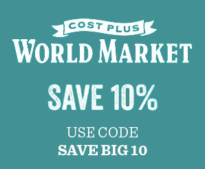 World Market discount, coupon code, and deals