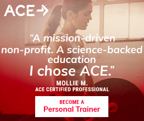 $100 off all ACE Fitness personal trainer study programs - ACE discount code, promo, coupon code
