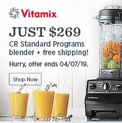 Vitamix reconditioned standard blender program