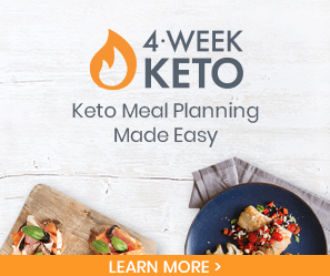 eMeals 4-week keto meal planning made easy