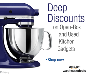 Deep discounts on open-box and used kitchen gadgets on Amazon Warehouse