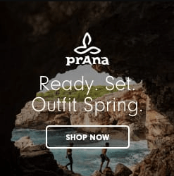 prAna clothing sale items