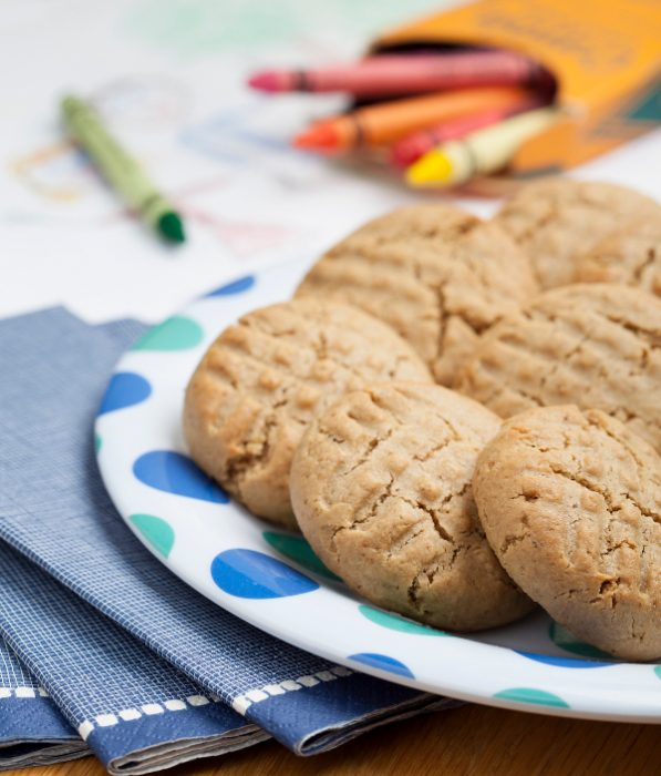 Peanut-Free Peanut Butter Cookies from Naturally Sweet & Gluten-Free by Ricki Heller
