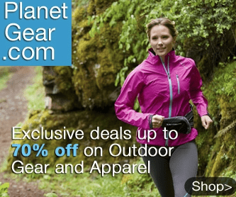 Save up to 70% off on outdoor gear and athletic apparel at Planet Gear