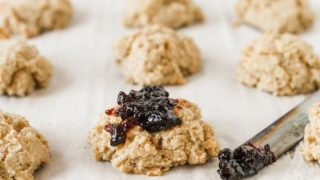 Gluten Free Drop Biscuits (Vegan)