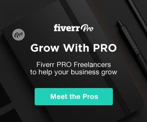 Go pro with Fiverr - business and blogging resources