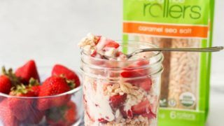 Easy Dairy Free Strawberry Yogurt Parfait (Gluten Free)