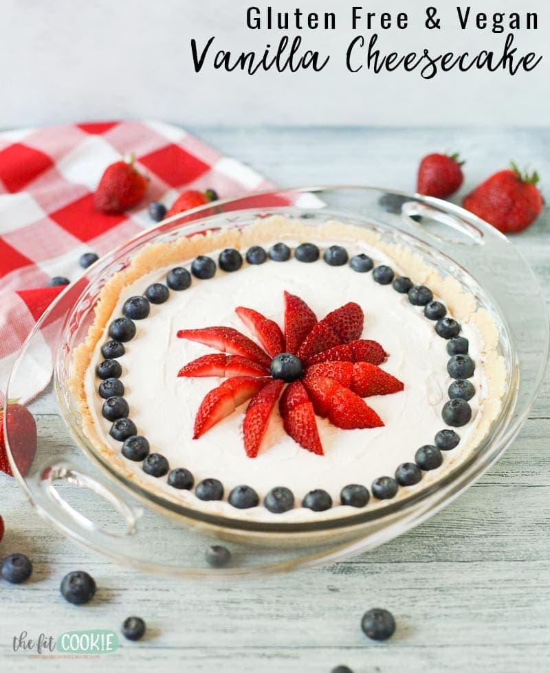 No Bake Dairy Free Vanilla Cheesecake Gluten Free The Fit Cookie,Eggplant Recipes Thai