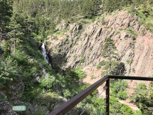observation deck at garden creek falls