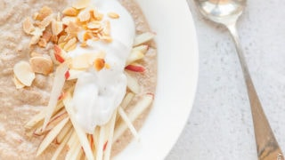 Apple-Cinnamon Buckwheat Muesli