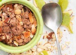 Healthy Apple Crisp with Butternut Squash Recipe {Vegan, Gluten-Free}