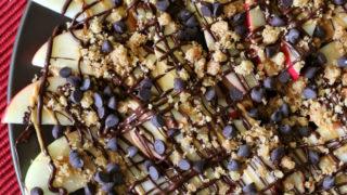 Gluten-free Apple Nachos (top 8 free)