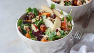 Harvest Apple Salad - A Whisk and Two Wands