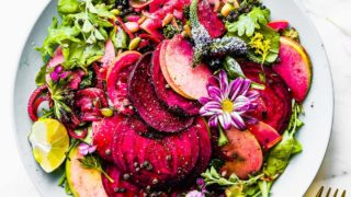 Zingy Marinated Beet and Apple Salad