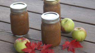 Maple Apple Butter | Homespun Seasonal Living