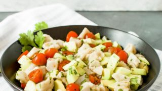 Fresh Sea Bass Ceviche (Grain Free)