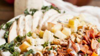 Chicken Apple Bacon Kale Salad | NeighborFood