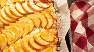 Ina Garten's French Apple Tart Made Gluten-free & Vegan (Top 8 free too!)