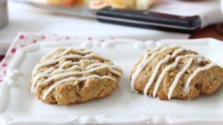 Gluten Free Apple Oatmeal Breakfast Cookies